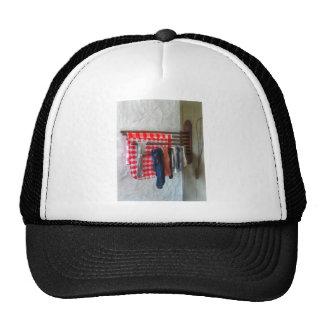 Almacenamiento del colgante a secarse gorras