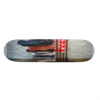 Almacenamiento del colgante a secarse patines personalizados