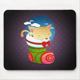 Almacenamiento del navidad alfombrillas de ratón