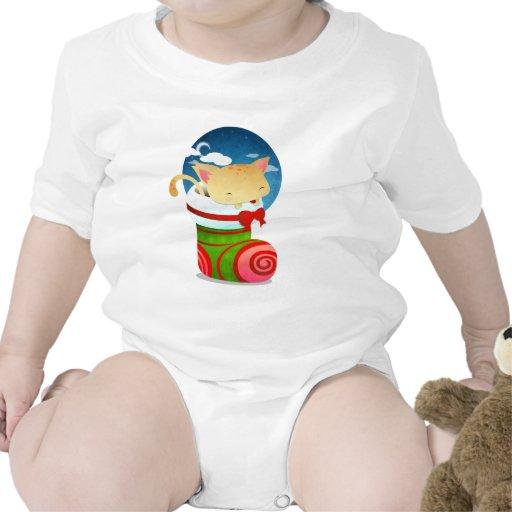 Almacenamiento del navidad camisetas