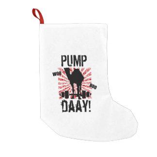 Almacenamiento del navidad del camello del día de calcetín navideño pequeño