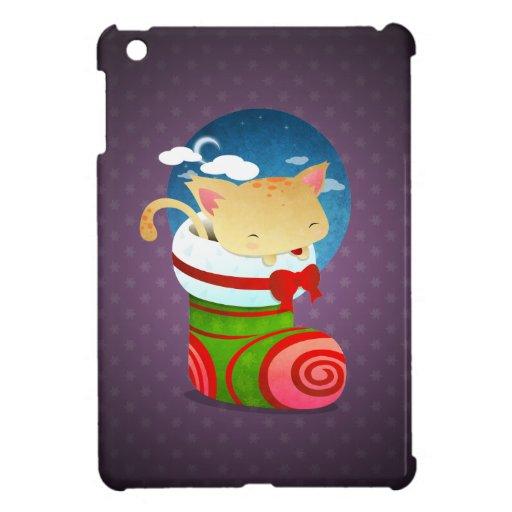 Almacenamiento del navidad iPad mini carcasa