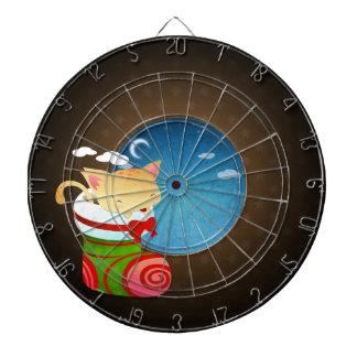 Almacenamiento del navidad tablero de dardos