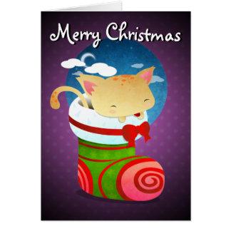 Almacenamiento del navidad tarjetas