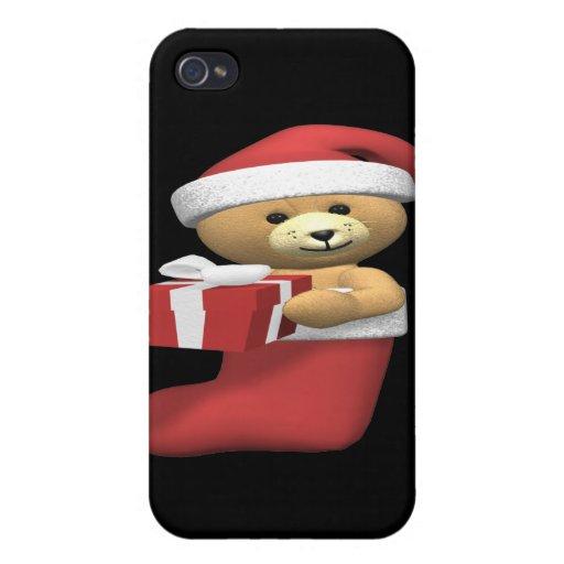 Almacenamiento del oso iPhone 4 carcasas
