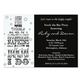 Almacene el negro de la invitación del fiesta de