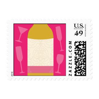 Almacene la barra sello postal