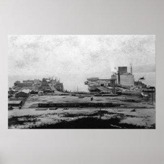 Almacenes de la costa en Astoria, O fotografía Impresiones