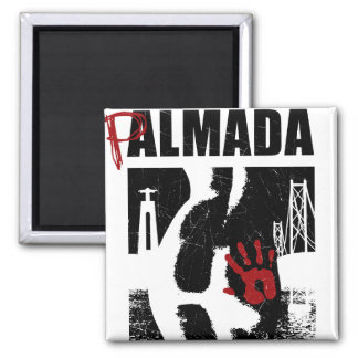 Almada 2 Inch Square Magnet