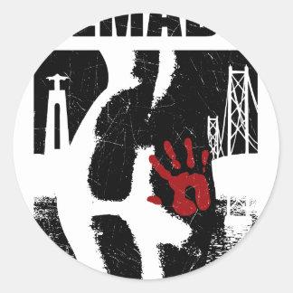 Almada Classic Round Sticker