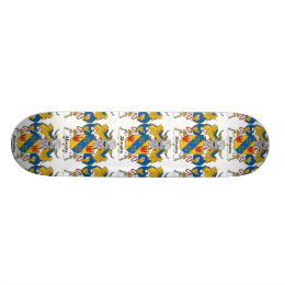 Almada Family Crest Skateboard Deck