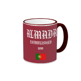 Almada, Portugal Crest Mug