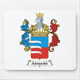 Almade Family Hungarian Coat of Arms Mouse Pad