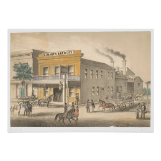 Almaden Brewery (0017B) Poster