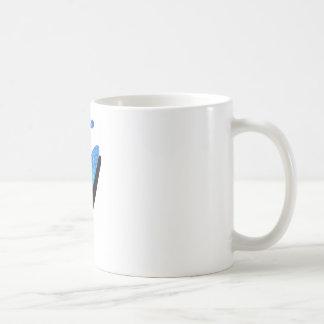 Almas carribean del kajak taza básica blanca