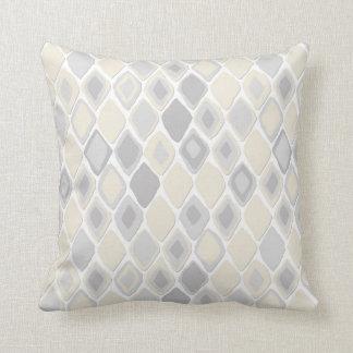 Almas diamond ikat pure throw pillow