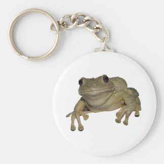 Alma's Frog Basic Round Button Keychain