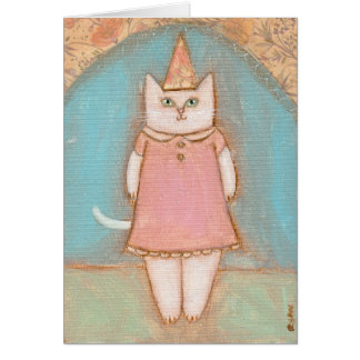 Alma's Party Hat Card