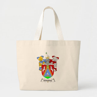 Almasy 1 Family Hungarian Coat of Arms Canvas Bag