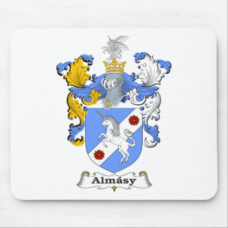 Almasy 3 Family Hungarian Coat of Arms Mouse Pad