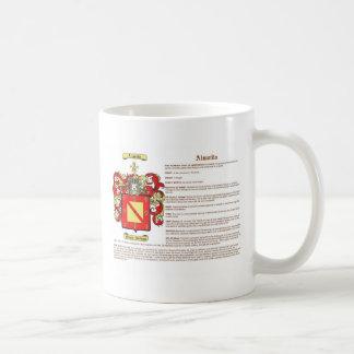 Almeida significado taza de café