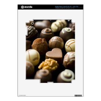 Almendras garapiñadas deliciosas del chocolate iPad 3 pegatina skin