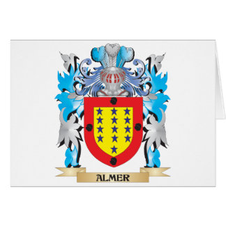 Almer Coat Of Arms Greeting Card