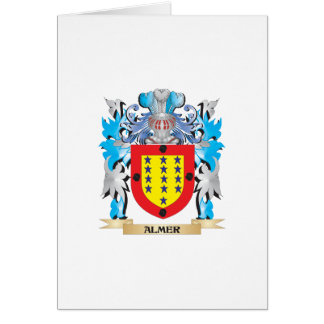 Almer Coat Of Arms Greeting Cards