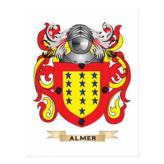Almer Coat of Arms (Family Crest) Post Cards
