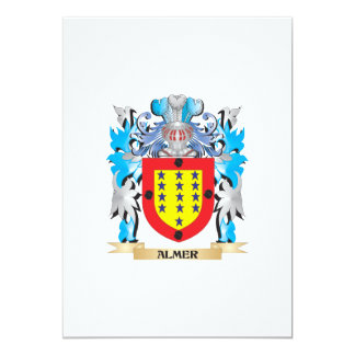Almer Coat Of Arms Personalized Invitations