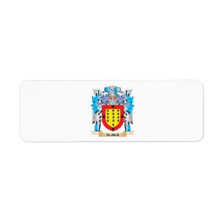Almer Coat Of Arms Return Address Labels