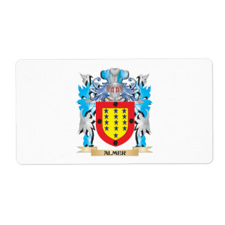 Almer Coat Of Arms Shipping Labels