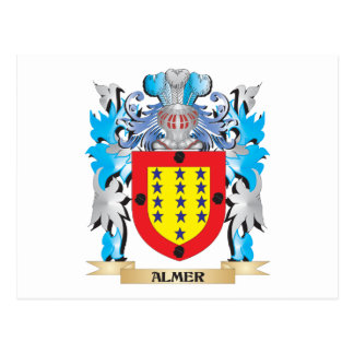 Almer Coat Of Arms Post Card