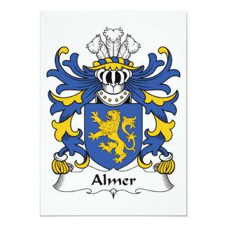 Almer Family Crest Personalized Invites