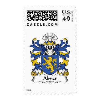 Almer Family Crest Postage