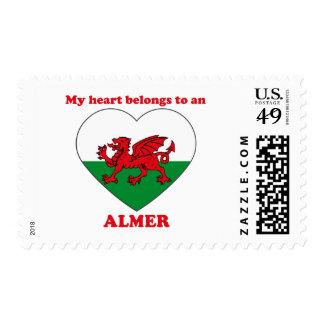 Almer Postage Stamps