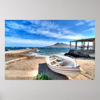 Almería, La Isleta Del Moro | Mar Mediterráneo Poster