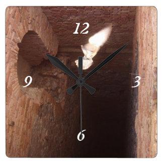 Almeria Spain Abandonded Mine Square Wall Clock