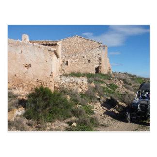 Almeria Spain Abandoned Mine Postcard