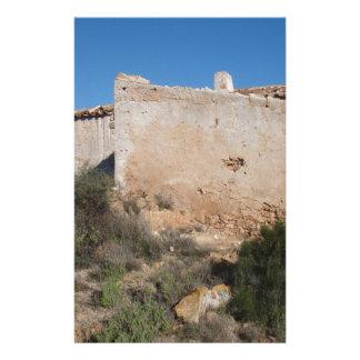 Almeria Spain Abandoned Mine Stationery