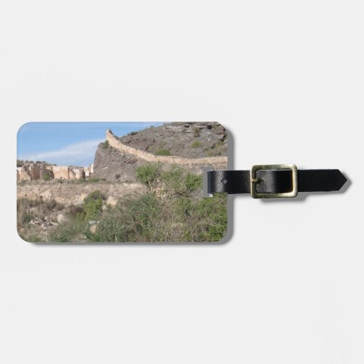 Almeria Spain Abandoned Mine Tag For Bags