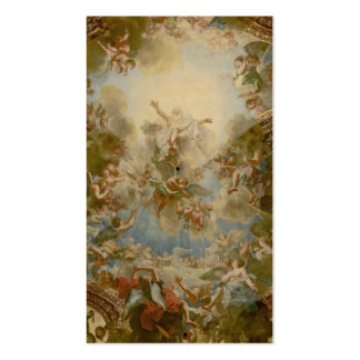 Almighty God the Father - Palace of Versailles Business Card Template
