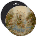 Almighty God the Father - Palace of Versailles 6 Inch Round Button