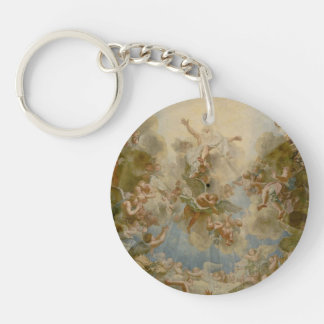 Almighty God the Father - Palace of Versailles Double-Sided Round Acrylic Keychain