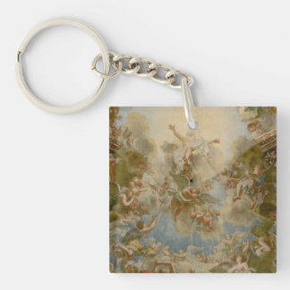Almighty God the Father - Palace of Versailles Double-Sided Square Acrylic Keychain