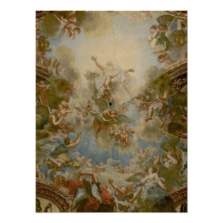 Almighty God the Father - Palace of Versailles Poster