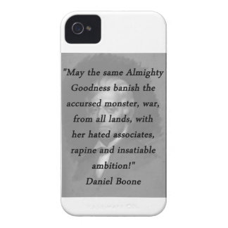 Almighty Goodness - Daniel Boone iPhone 4 Cover