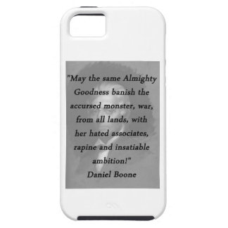 Almighty Goodness - Daniel Boone iPhone SE/5/5s Case