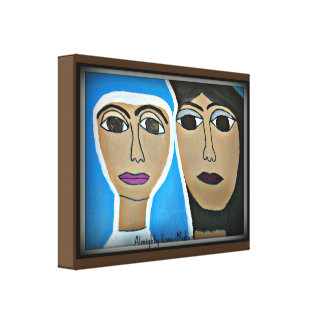 """Almighty Lovemaker 14"""" x 11"""" Wrapped Canvas"""