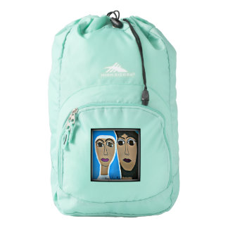 Almighty Lovemaker High Sierra Backpack, Aqua Blue High Sierra Backpack